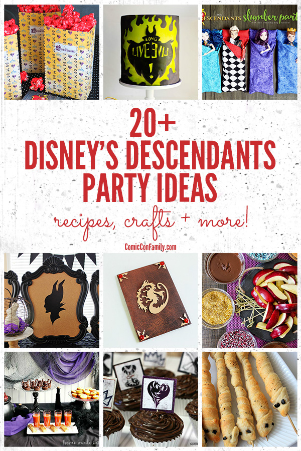 Disney Descendants Party Ideas: Recipes, Crafts + MORE!