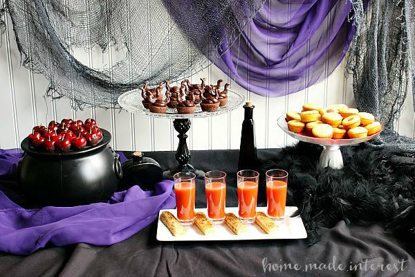 Disney Descendants Party Ideas Tablescape by Home Made Interest
