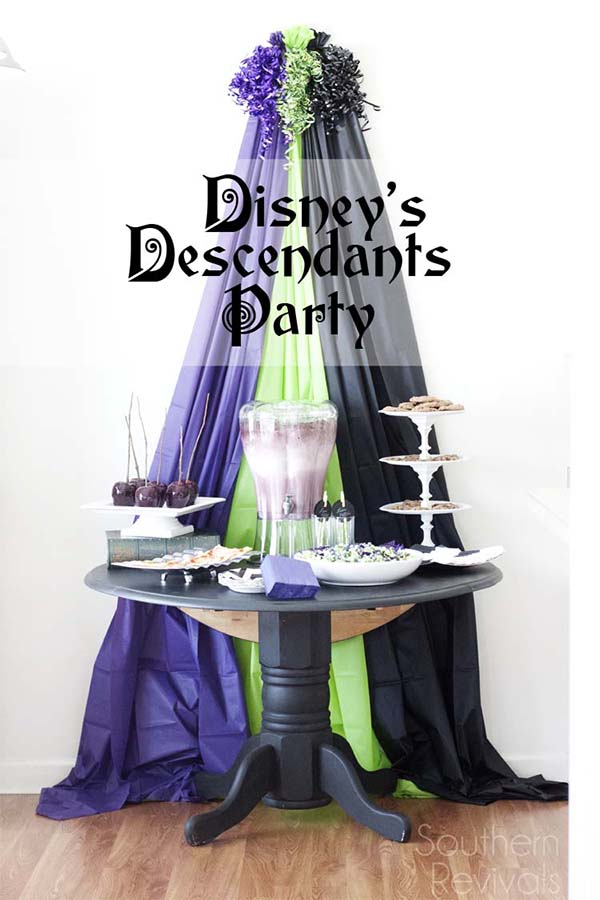 Disney Descendants Party by Southern Revivals