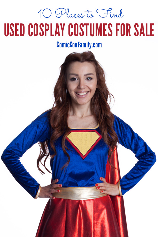 Need to save time or money on your next cosplay? These 10 places to find  sc 1 st  Comic Con Family & 10 Places to Find Used Cosplay Costumes for Sale - Comic Con Family