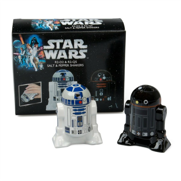 Star Wars Salt and Pepper Shakers - R2D2 and R2Q5