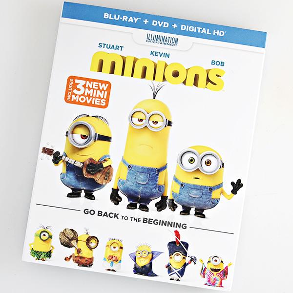 Minions Blu-Ray DVD