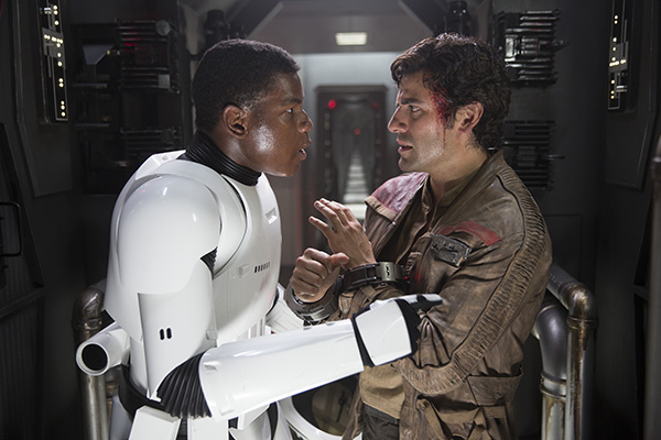 Star Wars - The Force Awakens Finn and Poe