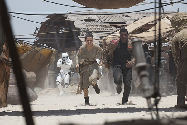 Star Wars - The Force Awakens Rey and Finn