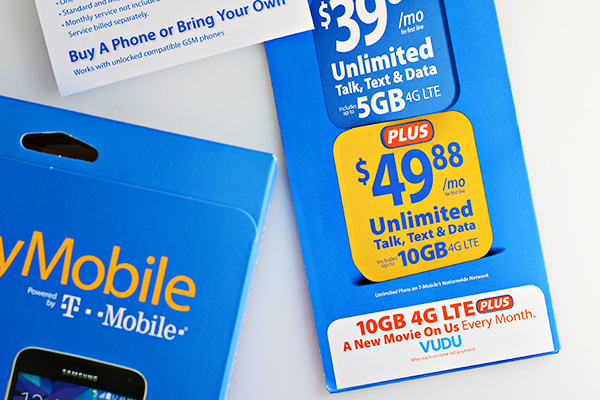 Walmart Family Mobile PLUS Plan with up to 10 GB Data