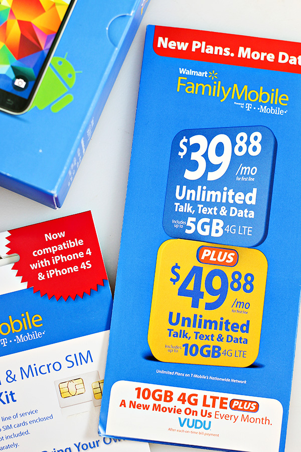 Walmart Family Mobile PLUS Plan