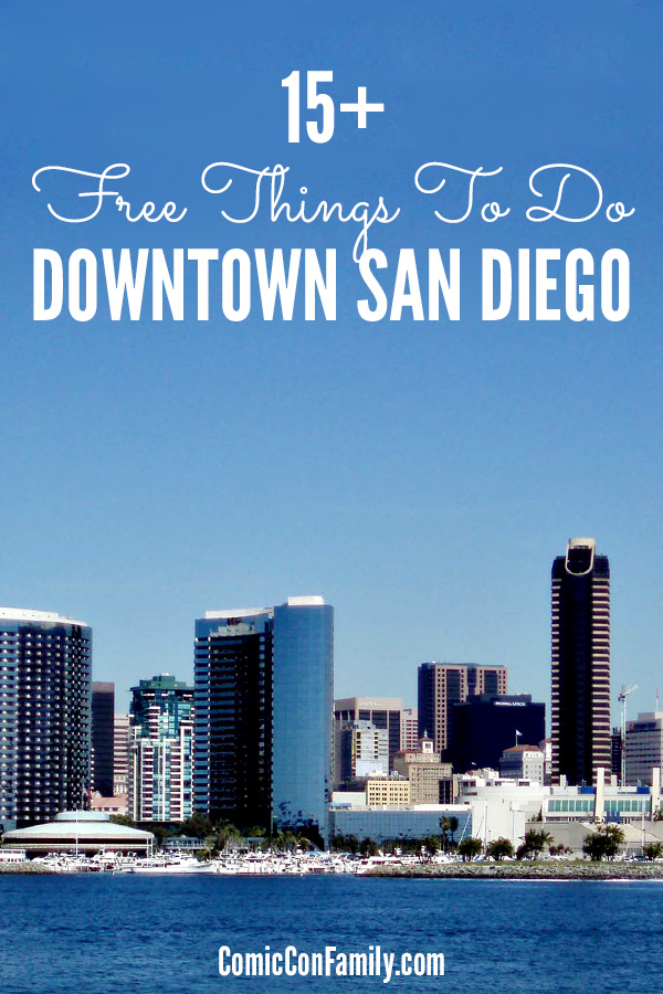 15 Free Things to Do Near Downtown San Diego