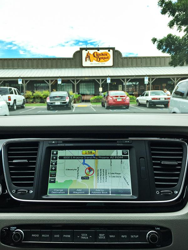 2015 Kia Sedona SX-L - navigation