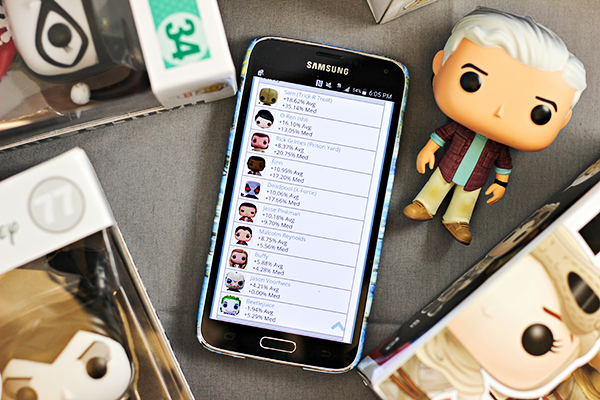 Apps to Manage Pop Culture Collections: POP! Vinyl Dolls Collections