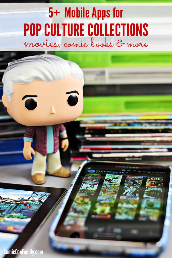 If your a geek who likes to collect movies, comic books, pop dolls + more, this is for you! 5 Mobile Apps to Manage Pop Culture Collections while on-the-go!
