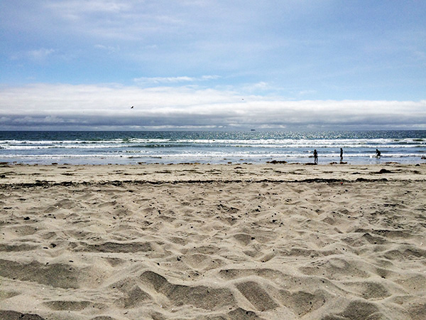 Coronado Island Beach - San Diego California