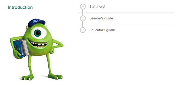 Get Started with Pixar in a Box at Khan Academy