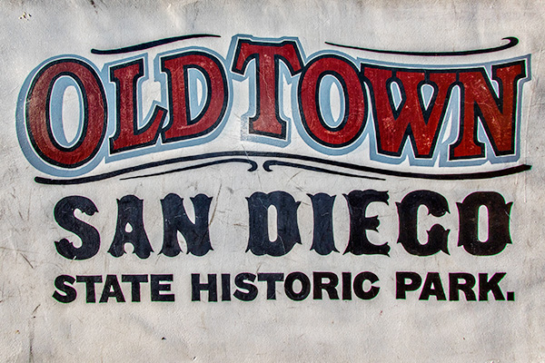 Old Town State Historic Park in San Diego, California