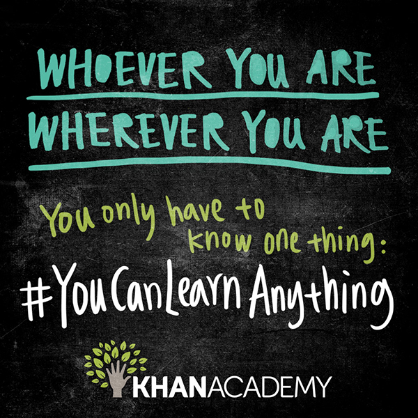 #YouCanLearnAnything