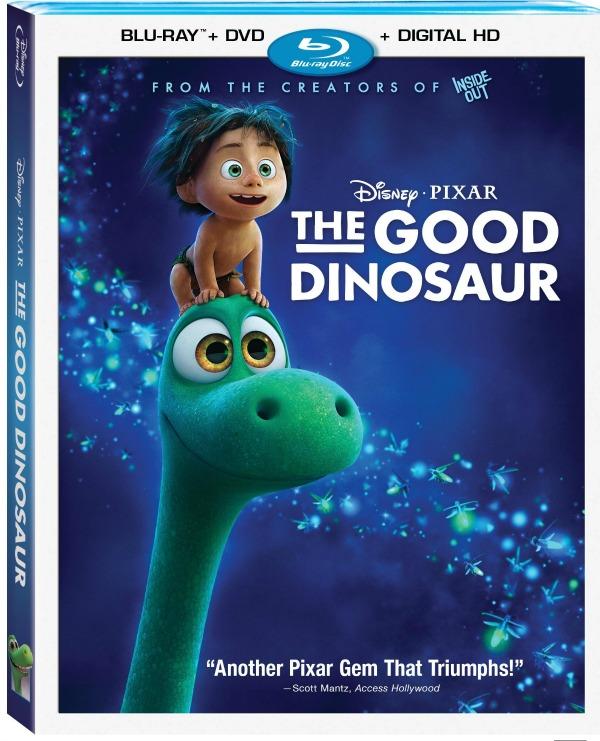 The Good Dinosaur Blu-ray DVD combo