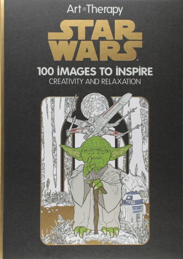 Art Of Coloring Star Wars Book