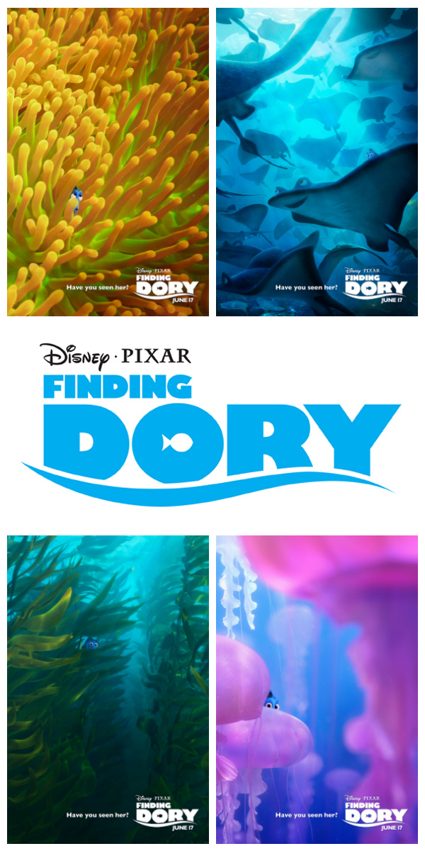 Disney Pixar Finding Dory Movie Posters - Have You Seen Her?