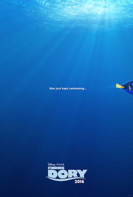 Disney's Finding Dory poster