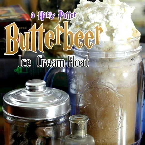 Butterbeer Ice Cream Float