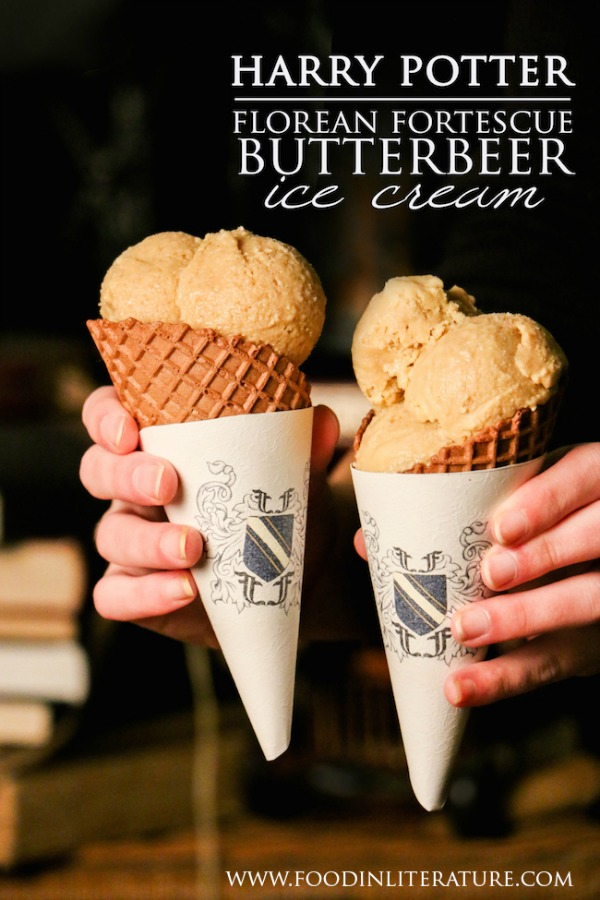 Harry Potter Florean Fortescue Butterbeer Ice Cream