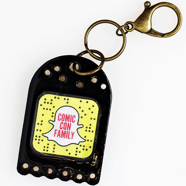 DIY Snapcode Keychain Craft Tutorial