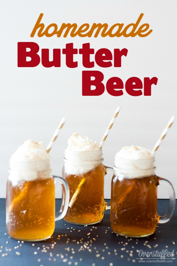 Harry Potter Homemade Butterbeer