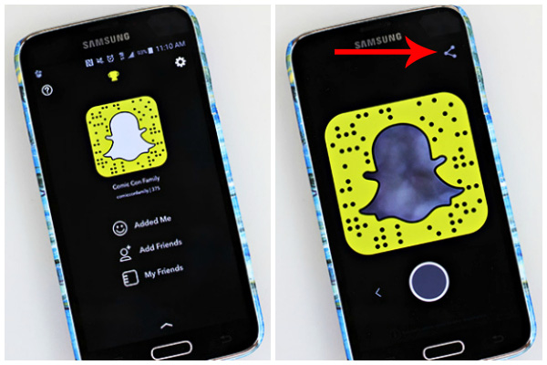 How to Save Snapchat Code