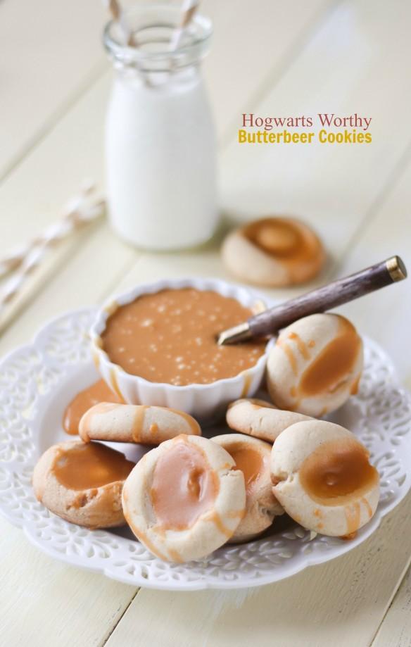 Hogwarts Worthy Butterbeer Cookies