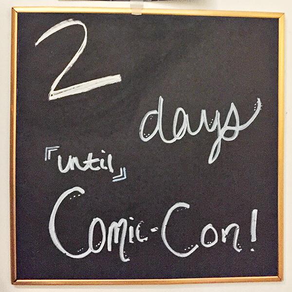 Comic-Con Countdown