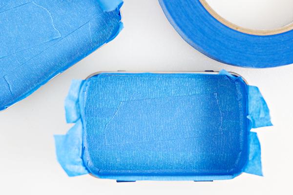 DIY Mini License Plate Game - Altoid Tin