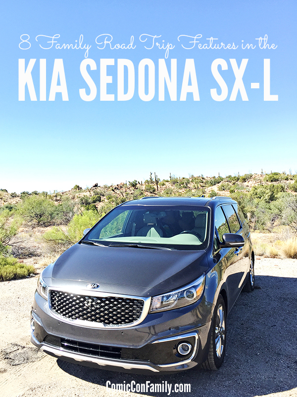Navigation? Rear A/C? Blind Spot Monitors? What features are important to you on a family road trip? This post shares 8 family road trip features in the Kia Sedona SX-L