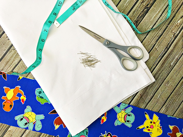 Fun DIY Kid Pillowcase Makeover for Kids