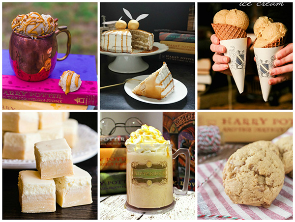 Harry Potter Butterbeer Recipes