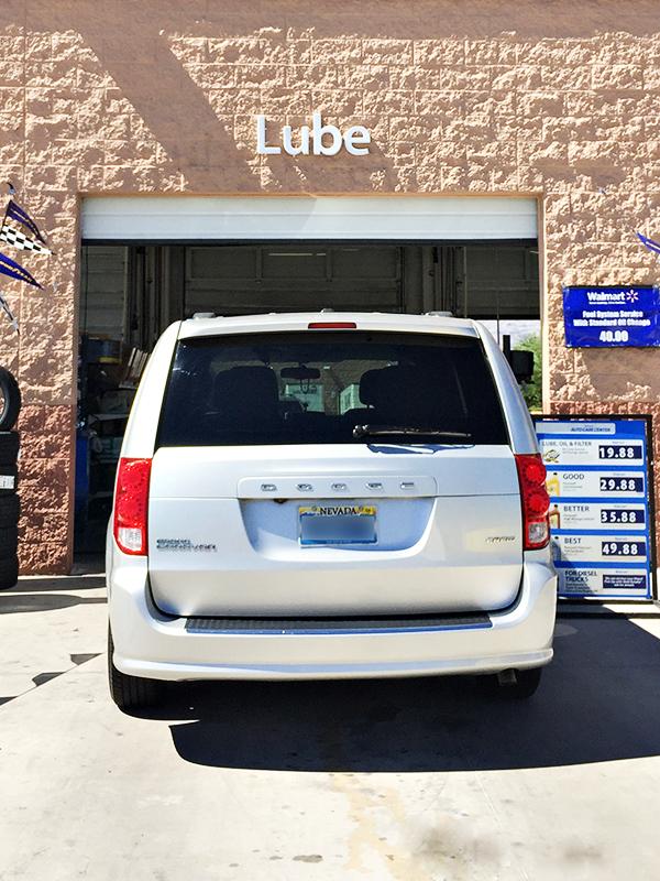 Pennzoil Oil Change at Walmart Auto Care Center