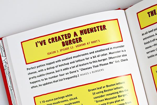 The Bob's Burgers Burger Book: I've Created a Muenster Burger Recipe