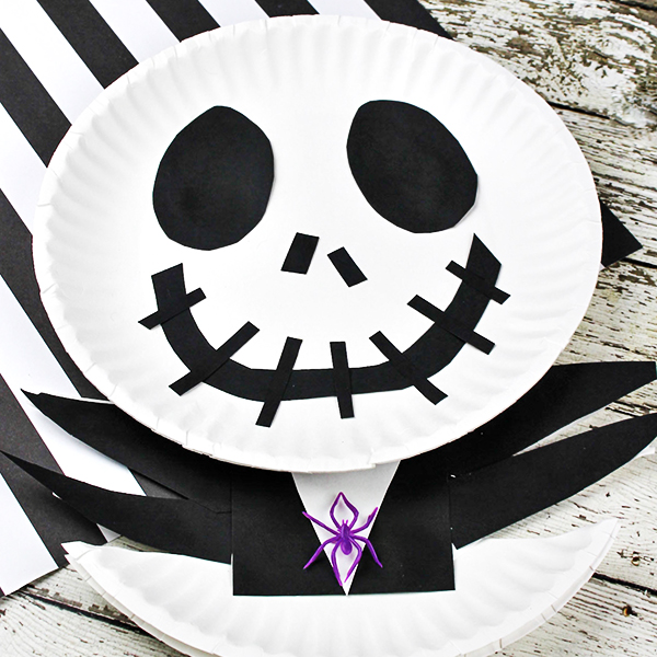 jack skellington craft for kids the nightmare before