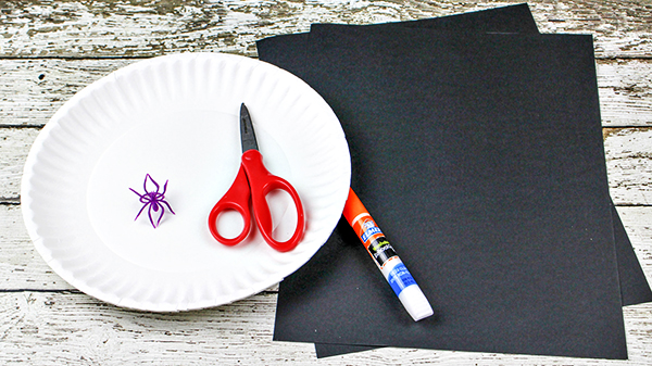 Jack Skellington Paper Plate Craft Supplies