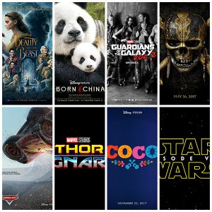 2017 List of Disney Movies – Trailers, Release Dates, Movie Posters & More