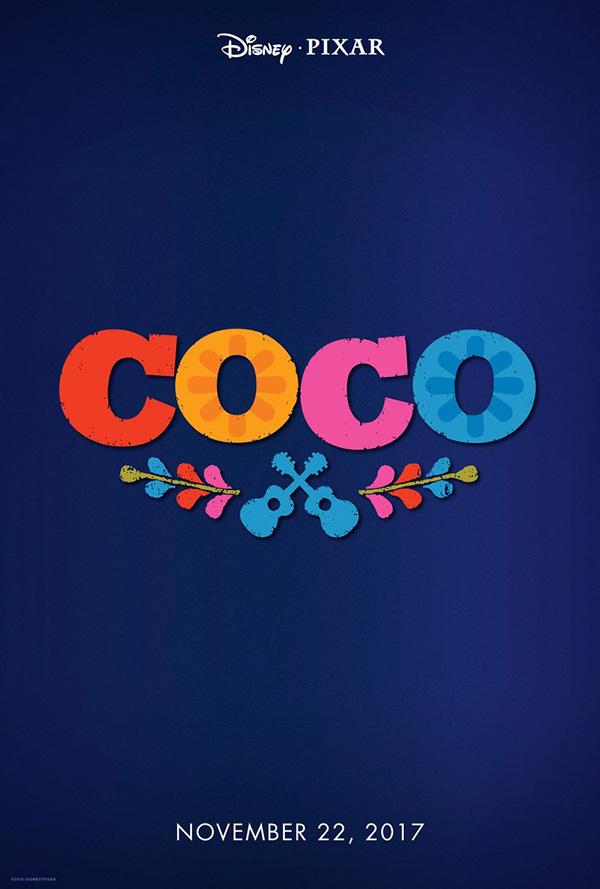 Disney / Pixar COCO Teaser Movie Poster