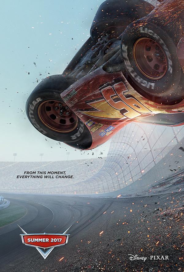 Disney / Pixar Cars3 Teaser Movie Poster