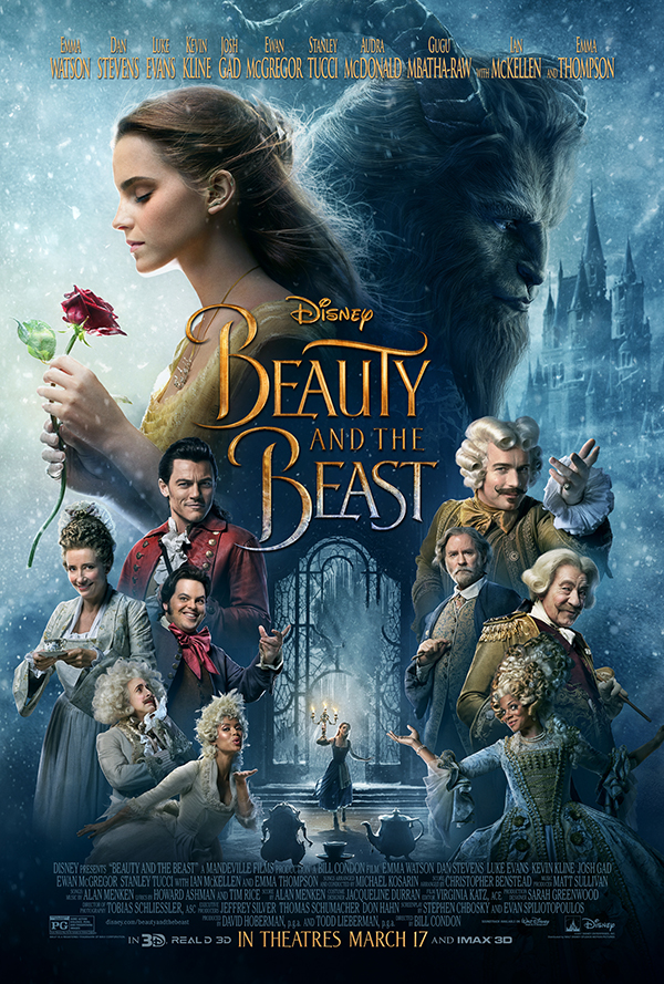 Disney's Beauty and the Beast Movie Poster