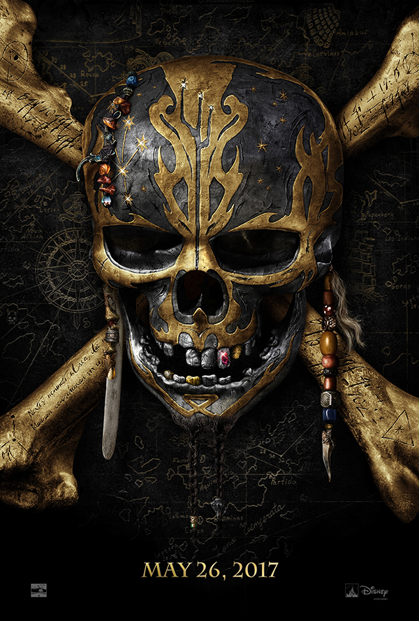 Disney's Pirates of the Caribbean: Dead Men Tell No Tales Movie Poster