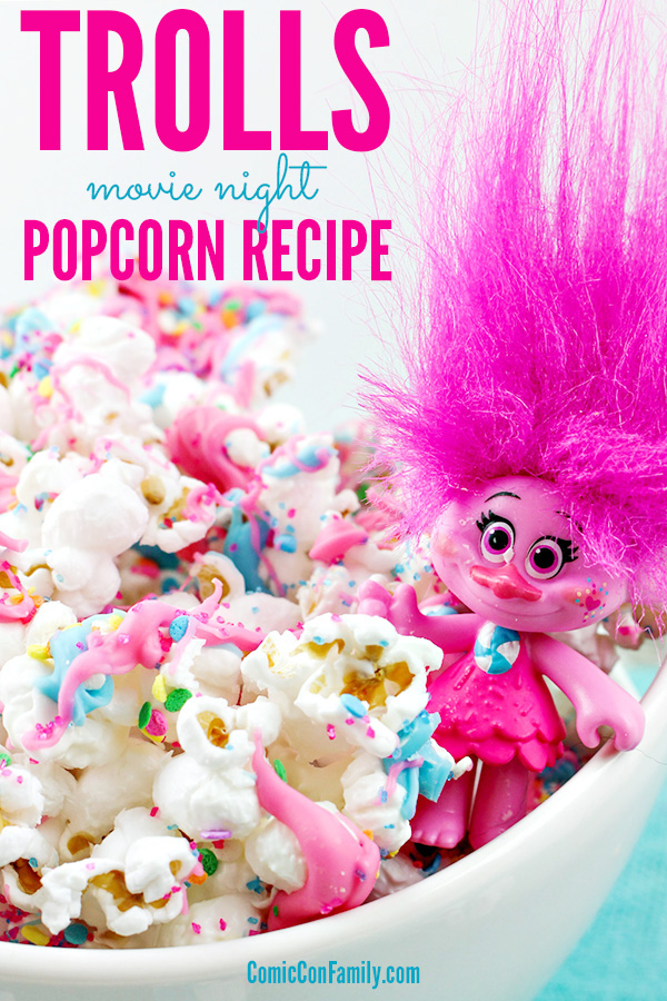 Dreamworks Trolls Movie Night Popcorn Recipe