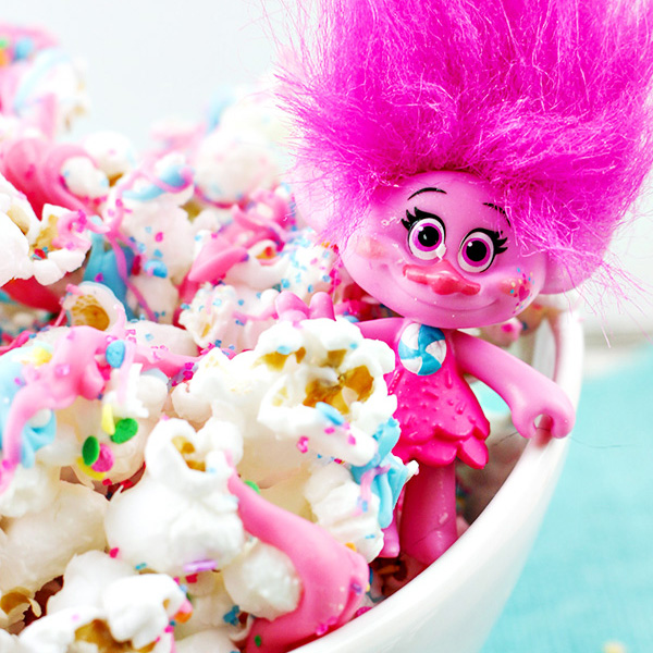 Dreamworks Trolls Movie Popcorn Recipe
