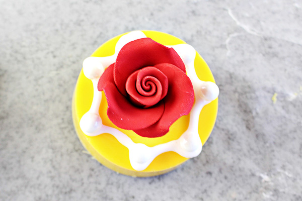 Disney's Beauty and the Beast Party Idea - Chocolate Dipped Oreo Cookies Recipe