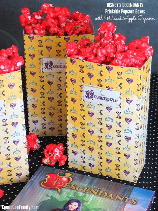 Disneys Descendants Wicked Apple Popcorn Recipe