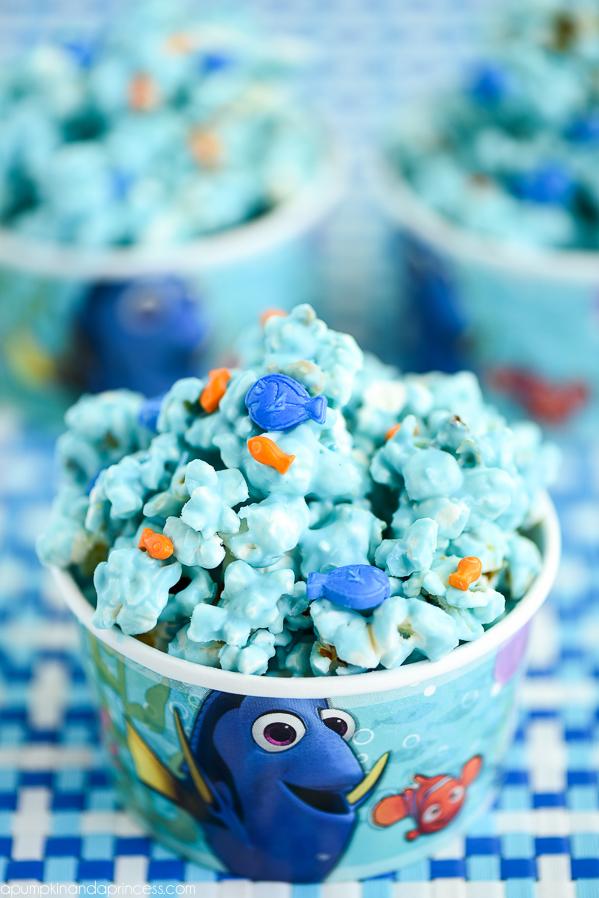 Finding Dory Movie Night Popcorn Recipe