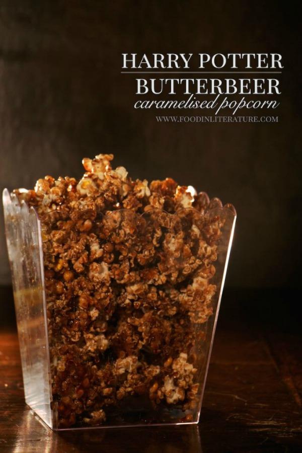 Harry Potter Butterbeer Caramelised Popcorn Recipe