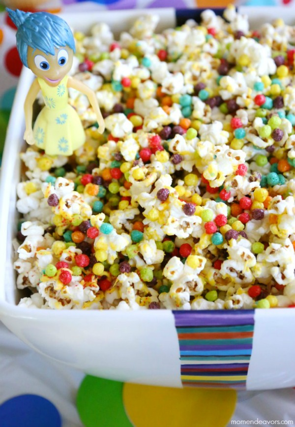 Disneys Inside Out party food Popcorn Recipe