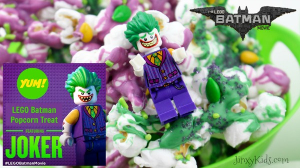 Lego Batman Movie Night Popcorn Recipe